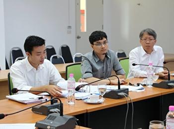 สาขาวิชาคอมพิวเตอร์เพื่องานสถาปัตยกรรม รับการตรวจประเมินการประกันคุณภาพการศึกษาภายในหลักสูตรวิทยาศาสตร์ ประจำปีการศึกษา 2559